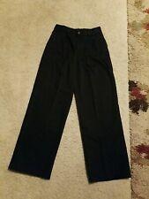 George Boy's Classic Fit Trousers Black Pleated Front Dress Uniform Pants Sz 14