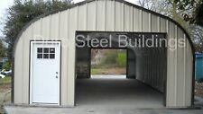 Durospan Steel 30x24x14 Metal Diy Home Building Shop Open Ends Factory Direct