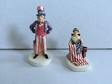 Sebastian Miniatures Paul Revere 6243 Horse Colonial Watchman 6208 Lantern