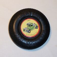 HOT WHEELS Mattel Vintage Redline T-4-2 Plastic Button Badge NICE