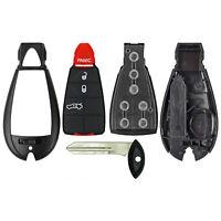 Keyless Smart Prox Fobik Remote Fob Shell Case Button Pad Uncut Blade L,U,P,T