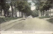 Bradford NH Main St. c1915 Postcard