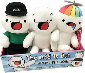 """The Odd 1s Out James Ploosh Toy Plush Original James Baby Sooubway Kids Gift 8"""""""