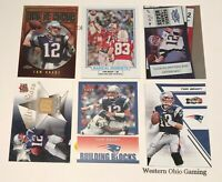 Tom Brady 6 Insert Card Lot READ New England Patriots
