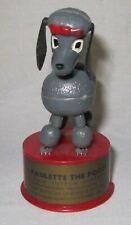 Kohner Push Puppet ~ Paulette Poodle