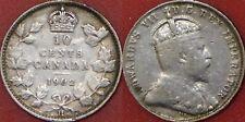 Fine 1902H Canada Silver 10 Cents