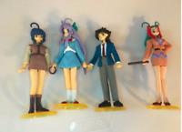 Mamotte Shugogetten Anime Figure Lot - Shaorin, Tasuke, Keikounitten, Shouko