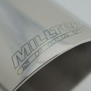 GENUINE MILLTEK SPORT EXHAUST END PIPE TIP 60mm inlet