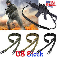 Sling Shoulder Strap Outdoor Rifle Sling Metal Buckle Shotgun Gun Belt Hunting