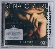 RENATO ZERO IL DONO DUAL DISC CD F.C. SIGILLATO!!!