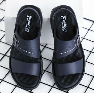 Men Summer Slingback Open Toe Roman Beach Sandals Sports Walking Shoes Slippers
