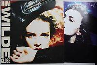 Kim Wilde Close UK 1988 LP + Innerbag