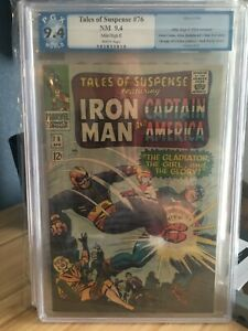 Tales of Suspense #76 Mile High II Collection Iron Man & Captain America PGX 9.4