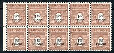 STAMP / TIMBRE FRANCE NEUF N° 707 ** BLOC DE 10 TIMBRES  type A R C de TRIOMPHE