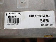 CENTRALINA RENAULT CLIO 16V S101261102  HOM7700850369
