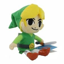 "The Legend of Zelda Link Plush Soft Toy 6""/15cm Stuffed Doll Gift #New"