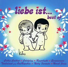 LIEBE IST... Best of - 2 CDs NEU Milow Lenka Razorlight Adel Tawil Evanescence