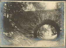 92 PARC DE SAINT-CLOUD PONT DU DIABLE GRANDE PHOTO 1907
