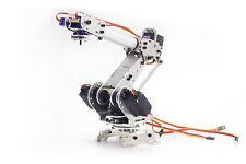 6 Achs Knickarm Roboter Bausatz MicroPede R-D - 6 DOF Roboterarm aus Metall