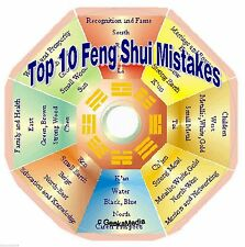 The Top 10 Feng Shui Mistakes, and How to Avoid Them on cd