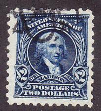 US Scott 479 old $2 Madison regular issue perf 10 U/VF CV $40