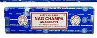 INCENSI Satya Baba NAG CHAMPA Bastoncini di incenso 1 scatola x 15gr.