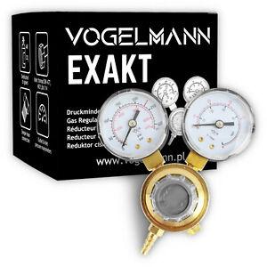 Vogelmann EXAKT Druckminderer Argon CO2 MIG Schutzgas Schweiß Gas Druckregler