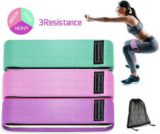 Non Slip Resistance Hip Bands, Booty Exercise Bands