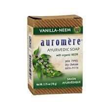 Auromere - Vanilla-Neem Ayurvédique Savon Barre - 81ml (78 G)