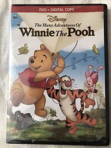 The Many Adventures of Winnie The Pooh Disney DVD & Digital Copy NEW & Sealed