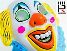 Vintage 1970s Very Unsettling Clown Mask! Vacuum formed NOS X-shop stock!