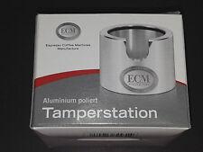 Original ECM Tamper Station (89420), Tamperstation Aluminium poliert - NEUWARE