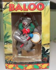 GROLIER DISNEY CHRISTMAS ORNAMENT EXCLUSIVE FIRST ISSUE BALOO JUNGLE BOOK IN BOX