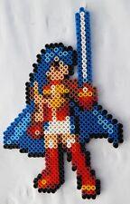 Eirika (Fire Emblem) - Bead sprite perler pixel art - Perles à repasser