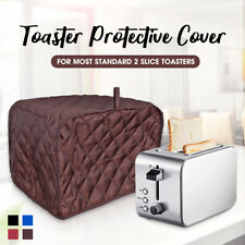 2 Piece Toaster Bakeware Cover Protector Dustproof Clean Kitchen Home Us