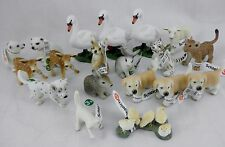 NEW! Schleich Animal LOT! SWAN POLAR BEAR LION TIGER CUB RABBIT PUPPY FOX FAWN