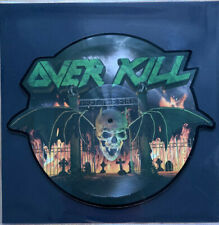 Overkill - feel the fire / picture shape / LTD 999 / VINYL / NEW MINT