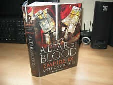 Anthony Riches Altar Of Blood *Signed Lined Pub. Dated Numbered x/150 1st Empire