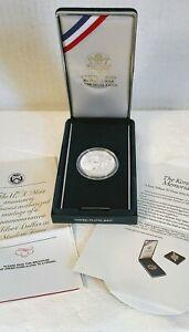 1991P PROOF $1 Korean War Memorial Commemorative Silver Dollar