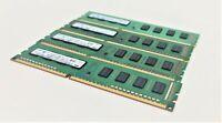 8GB (4x2GB) DDR3 PC3-10600U 1333 MHZ 240 PIN PC RAM DESKTOP MEMORY INTEL AND AMD