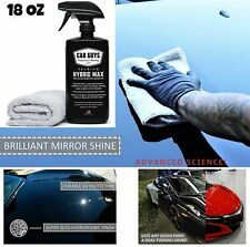 Ceramic Car Coating KIT Liquid Wax Anti Scratch 18 oz Bottled and Made IN USA