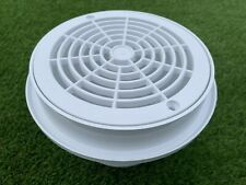 More details for certikin concrete bottom floor main drain body and grill hd33d white