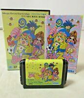 SEGA Mega Drive MD Genesis game soft tasted Magical Taluluto kun 1992 From Japan