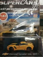 CHEVROLET CORVETTE Z06 2017 SUPERCARS GT C. 1:43 #52 - DIE CAST