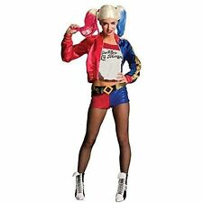 Harley Quinn Suicide Squad Womens Costume Halloween Party Fancy Dress Large