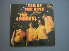 """LP 12"""" 33 rpm 1967 TEN OF THE BEST with THE SPINNERS - Fontana"""