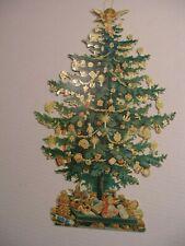Vtg 1980 Shackman Hong Kong, Christmas Tree victorian style