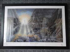 Lord of the Rings Poster Salvation at Sunrise  by B.Jones Limited edition