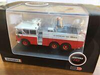 OXFORD 76TN002 Thornycroft Nubian Major Glamorgan Fire Service diecast 1:76th