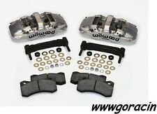 Wilwood AERO6 Front Caliper Upgrade Kit Fits1997-2013 Corvette C5,C6,Z06,Nickel!